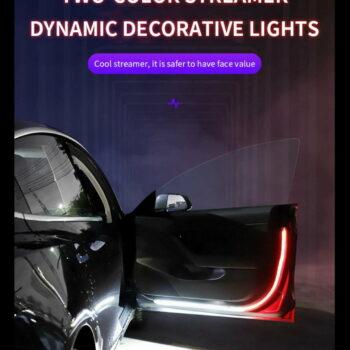 Door warning led light