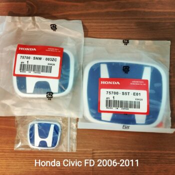 Blue H Emblems for Honda Civic FD 2006-2011