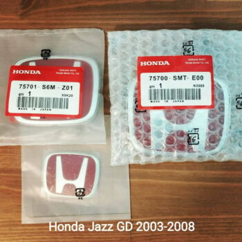 Red H Emblems for Honda Jazz GD 2003-2008