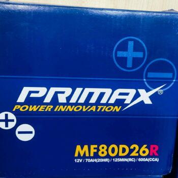 Primax Car Battery 12 V / 70 AH