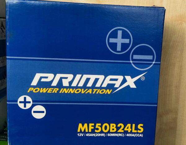 Primax Car Battery 12 V / 45 AH