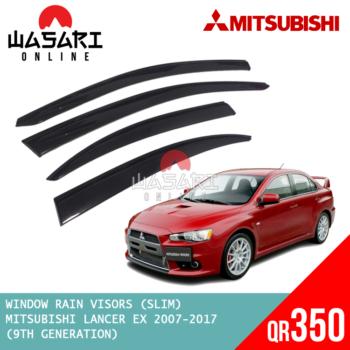 Window Rain Visors for Mitsubishi Lancer EX 2007-2017