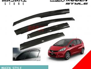 Mugen Style Window Rain Visors for Honda Jazz
