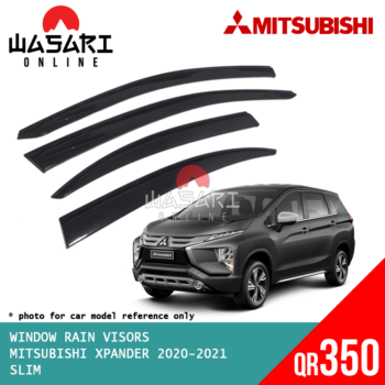 Window Rain Visors for Mitsubishi Xpander