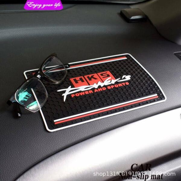 Car dash board anti skid mat HKS / Ralliart