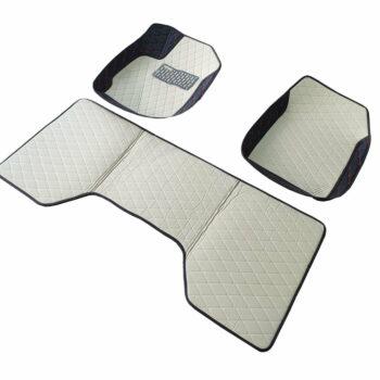Car Floor Mats (White)