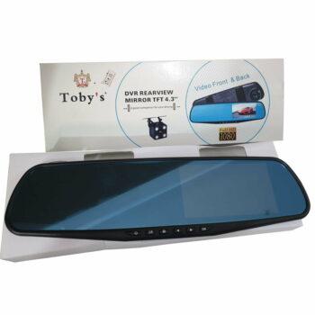 TFT 4.3″ CAR DVR REAR VIEW MIRROR