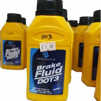 Paramount Oil Brake Fluid DOT 3 (250 ml)