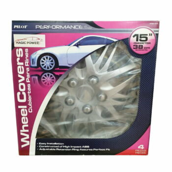 Magic Power Wheel Cover 4 Pieces ( 15 inches / 38 cm Diameter)