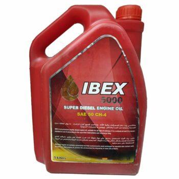 IBEX 5000 SUPER DIESEL ENGINE OIL SAE 50 CH-4 (5 Liters)