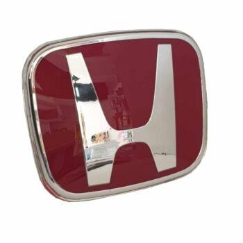 Honda Original Red Emblem for Civic FC Rear: 75700-SYY-003