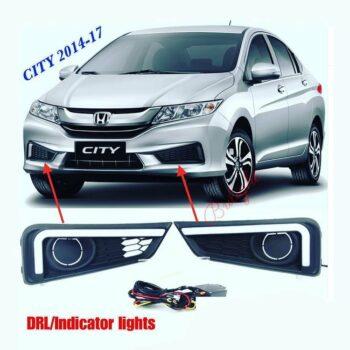 DRL + Indicator Lights Honda City 2014 – 2017