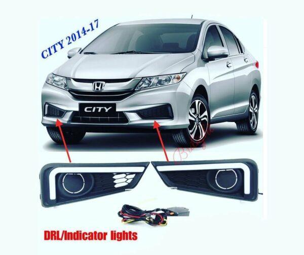 DRL + Indicator Lights Honda City 2014 - 2017