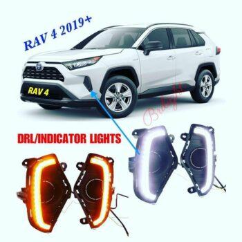 DRL + Indicator Lights RAV 4 2019 +