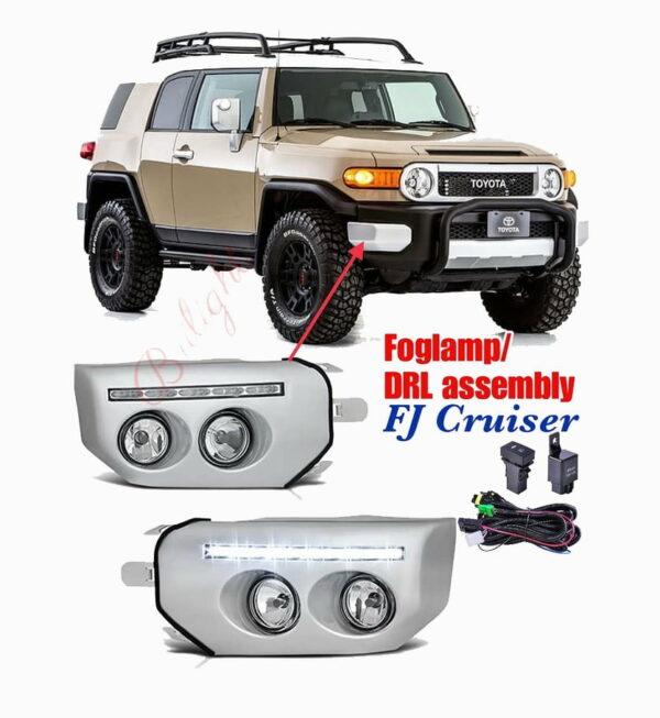 Fog Lamp & DRL Assembly for FJ Cruiser