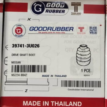 Good Rubber Drive Shaft Boot NISSAN