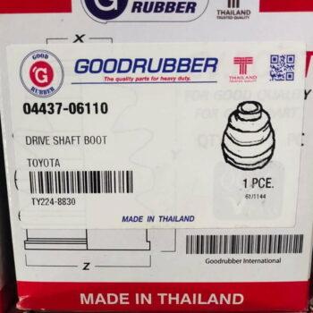 Good Rubber Drive Shaft Boot Toyota