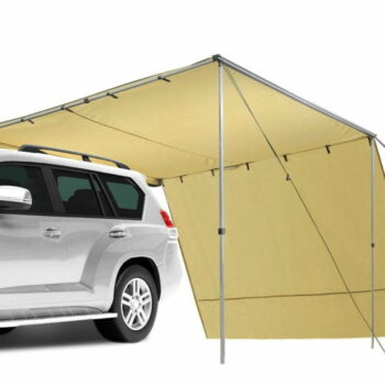 Camping Car Awning with Side Wall (3m x 2m x 2.2m)
