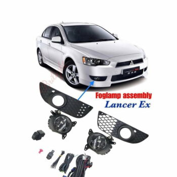 5 Fog Lamp Assembly Mitsubishi Lancer Ex
