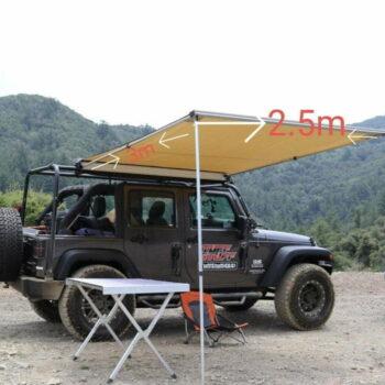Car Camping Awning 3 x 2.5 m (Tent, Car Shade , Umbrella)