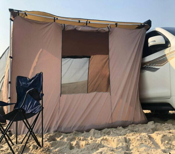 Camping Car Awning with Room Tent 3 m by 2.5 m
