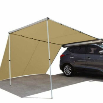 Camping Car Awning with Side Wall (3m x 2.5 m x 2.2m)