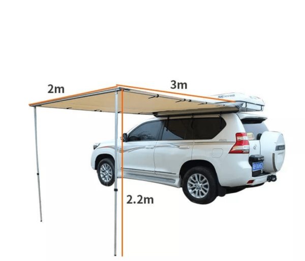 Awning 3 x 2 m (Tent, Car Shade , Umbrella)