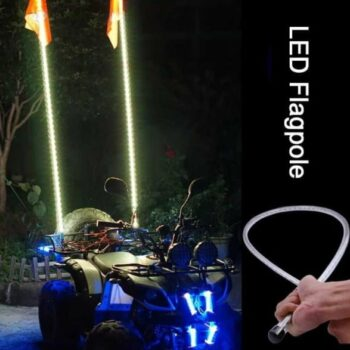 Outdoor Led Flag with Remote (1.8 m) Off-Road Truck Sand Buggy Dune