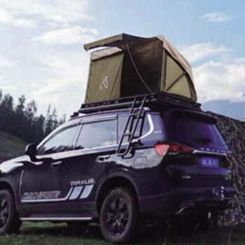 Car Roof Camping Tent with Awning Set
