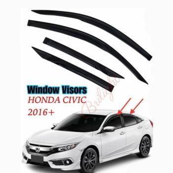 Window Visor Honda Civic 2016+