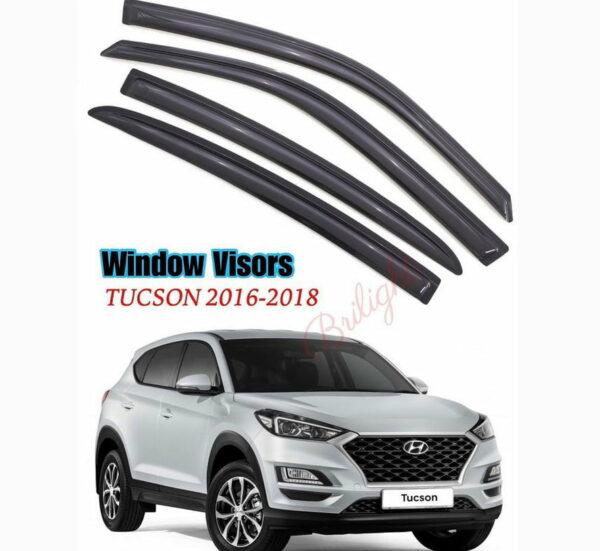 Window Visor Hyundai Tucson 2016-2018